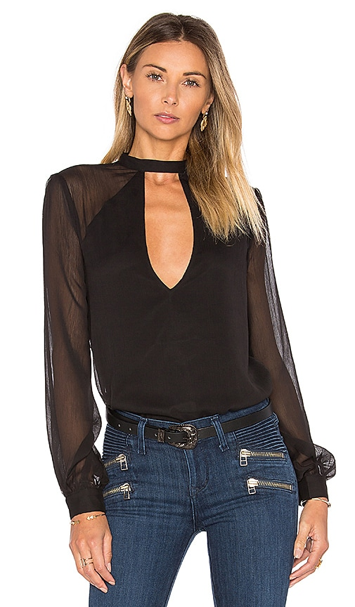 Tularosa Evie Blouse in Black