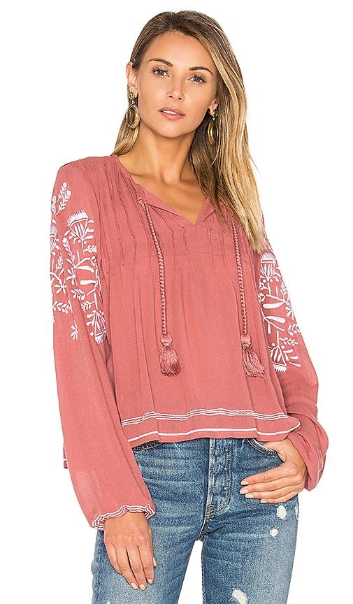 Tularosa Rose Top in Pink