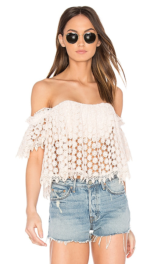 Tularosa x REVOLVE Amelia Crop Top in Pink