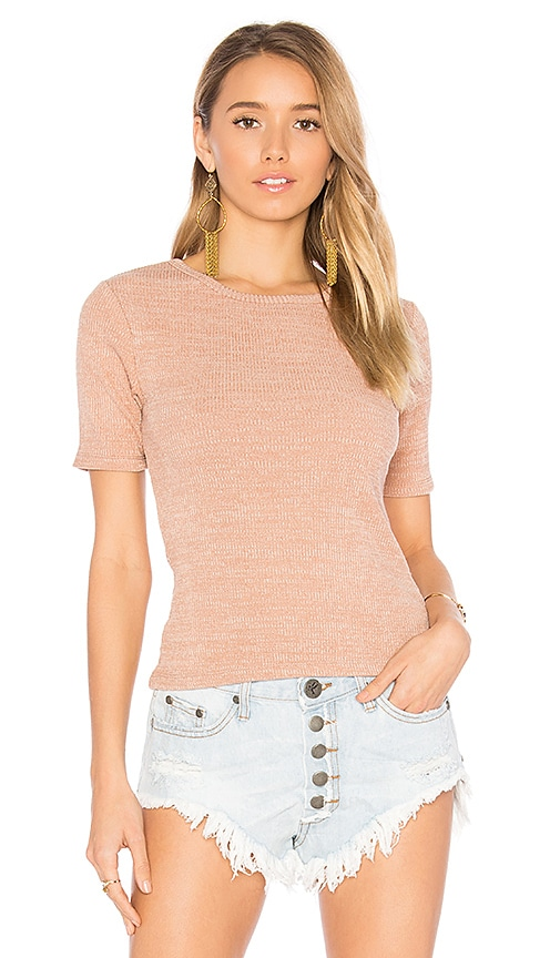 Tularosa Beck Top in Rose