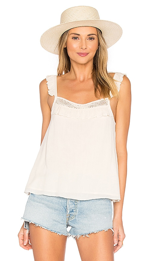 Tularosa Sparrow Tank in Cream