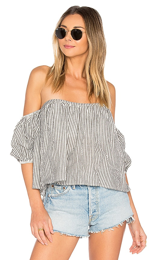 Tularosa x REVOLVE Rio Top in Black & White