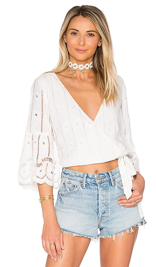 Tularosa Estelle Top in Ivory