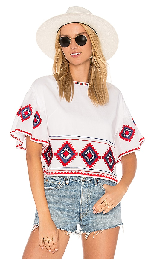 Tularosa Sienna Top in White
