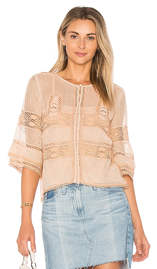 Tularosa Neil Top in Blush