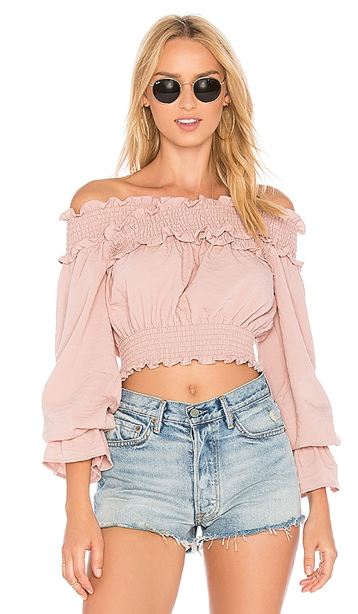 Tularosa Cindy Top in Pink