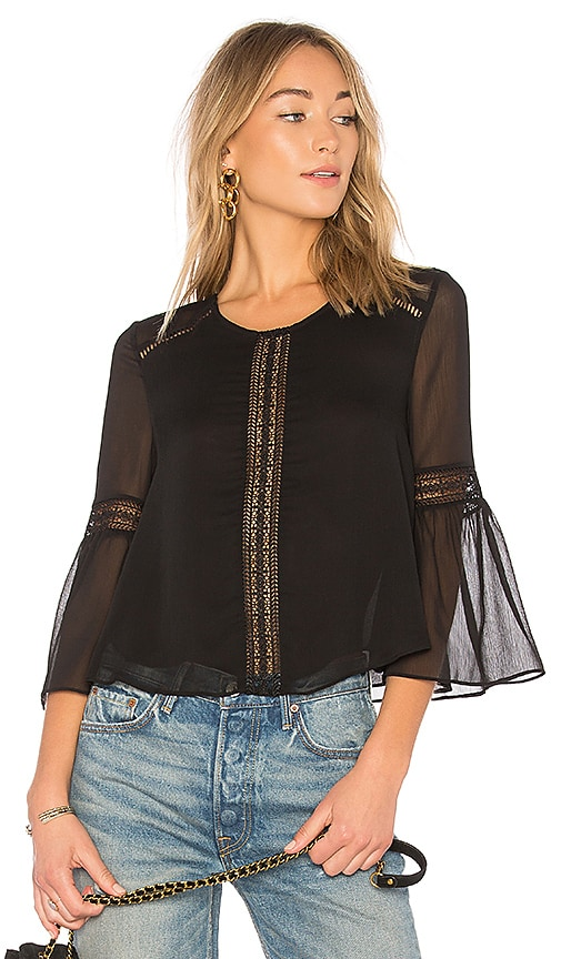 Tularosa Jaylen Blouse in Black