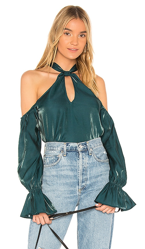 Tularosa Marnie Top in Green