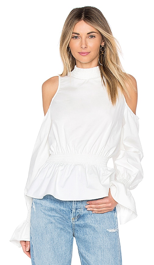 Tularosa Sophia Blouse in White