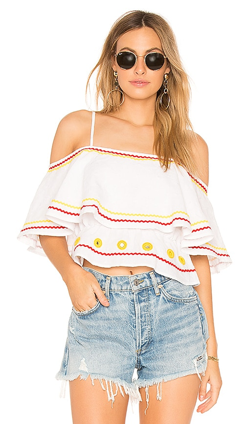 Tularosa Newport top in White