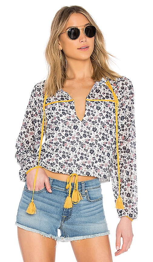 Tularosa Samantha Top in Ivory