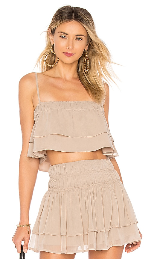Tularosa Stella Top in Taupe
