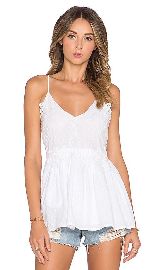 Tularosa Dixie Cami in White