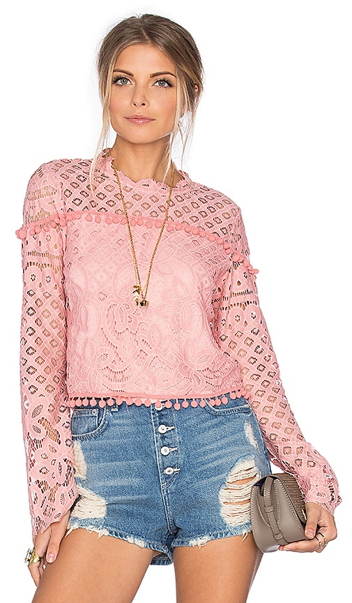 Tularosa x REVOLVE Holly Top in Blush