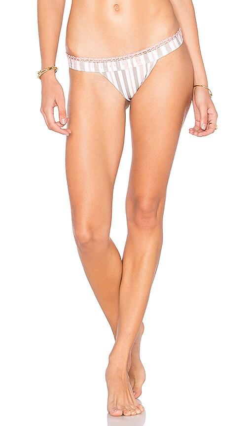 Tularosa Lexi Bikini Bottom in Pink