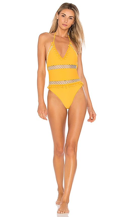 Tularosa x REVOLVE Ember One Piece in Yellow