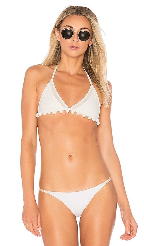 Tularosa Nina Bikini Top in Ivory