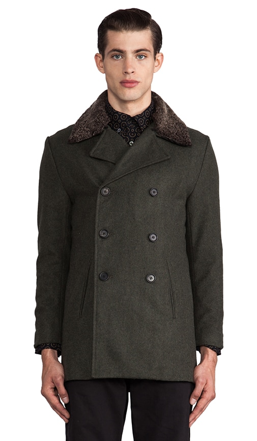Jeff Peacoat w/ Sherling Collar