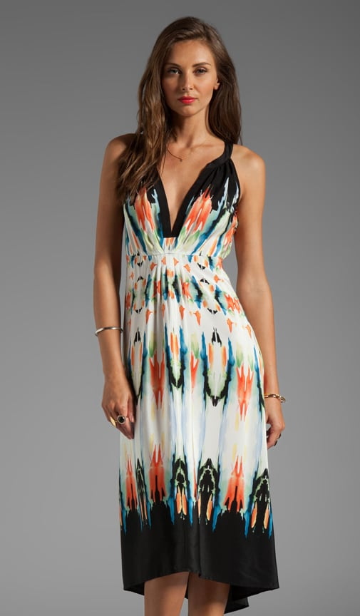 Palma Hi/Low Maxi Dress