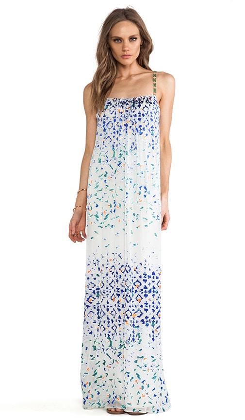 Beaded Strap Maxi Dress