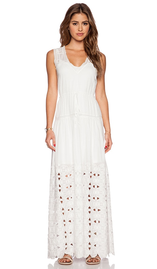 Twelfth Street By Cynthia Vincent Maxi Dress in White