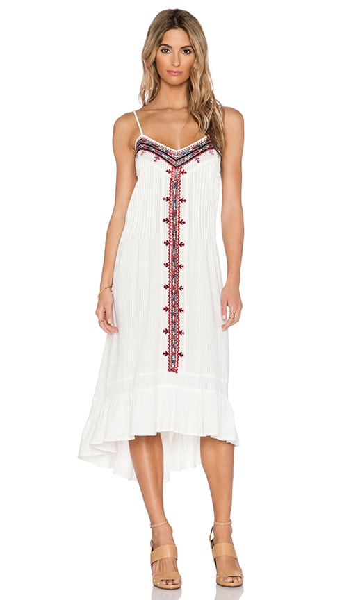 Embroidered Western Dress