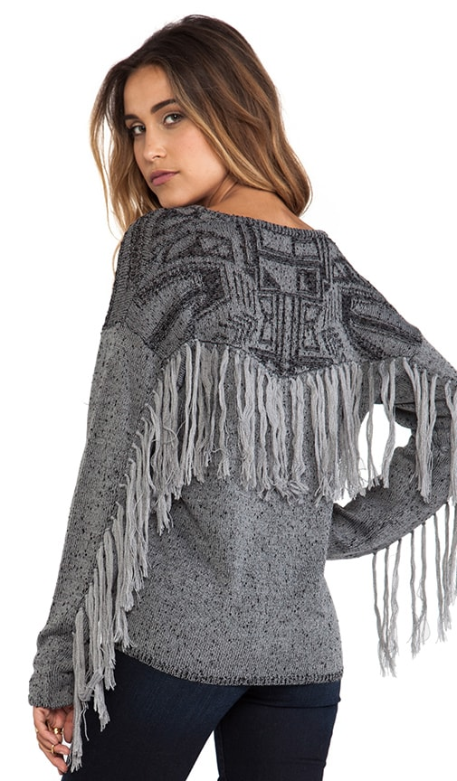 Walter's Walk Fringe Sweater