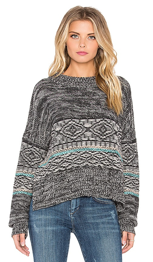 Twelfth Street By Cynthia Vincent Apres Ski Pullover in Grey