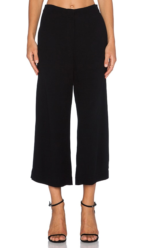 Side Slit Crop Pant