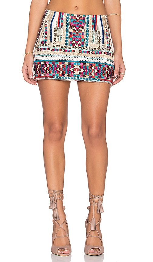 Twelfth Street By Cynthia Vincent Nomad Skirt in Multi