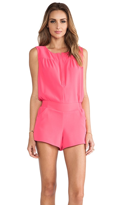 Button Back Romper