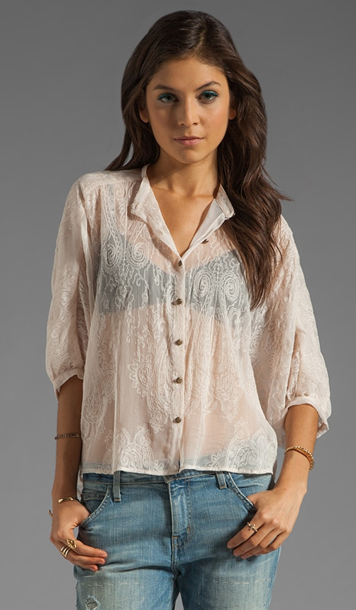Exaggerated High-Low Shirt