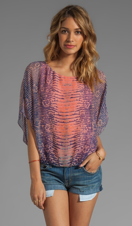 Sheer Sleeve Dolman