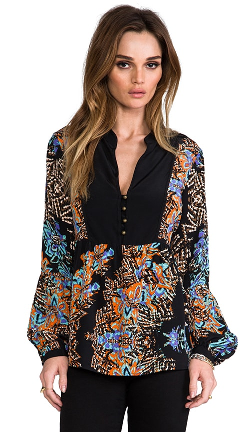 The Wild One Bell Sleeve Blouse
