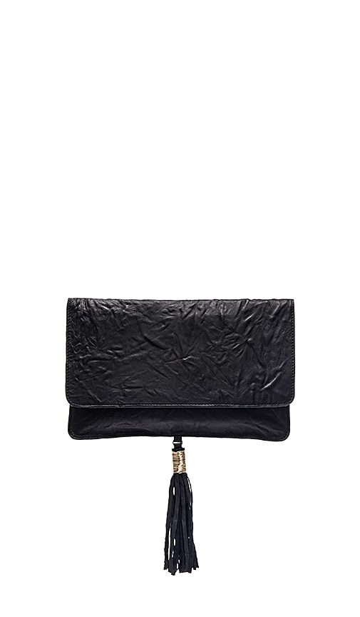 Twelfth Street By Cynthia Vincent Elsa Clutch in Black