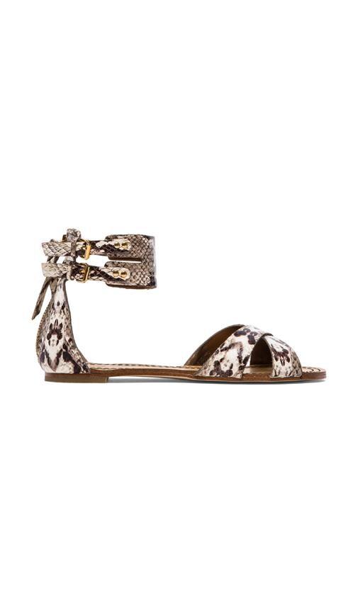 Laura Snake Gladiator Sandals