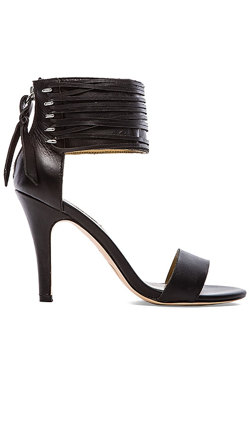 Callie Woven Leather Lace Sandal