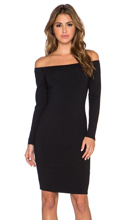 twenty Off The Shoulder Dress in Black