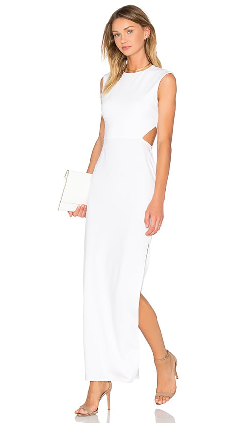 twenty Viscose Stretch Maxi Dress in White