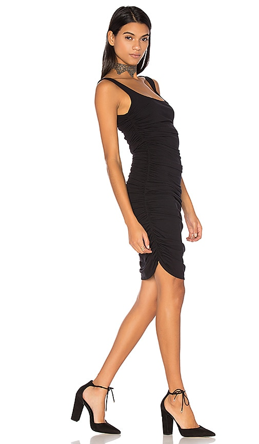 twenty Bodycon Mini Dress in Black
