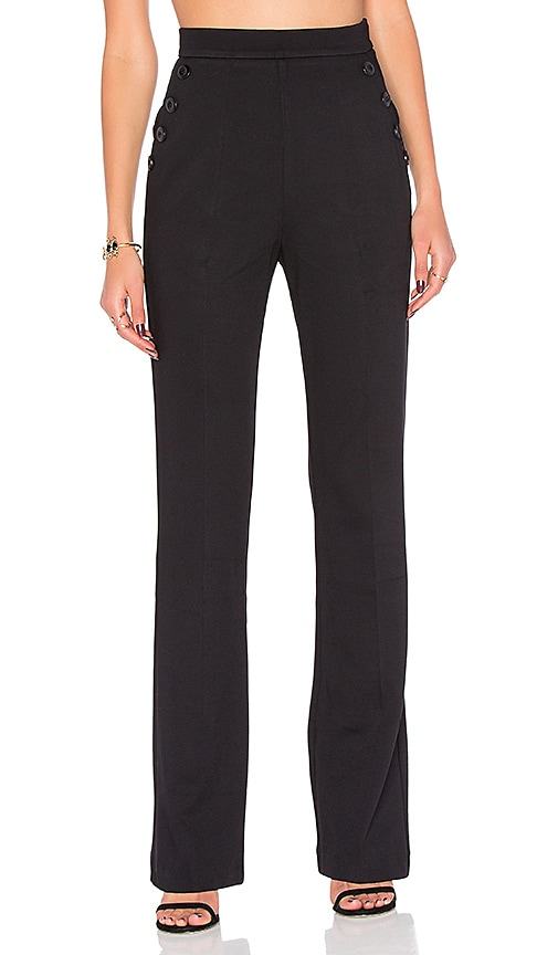 twenty Wide Leg Pant in Black