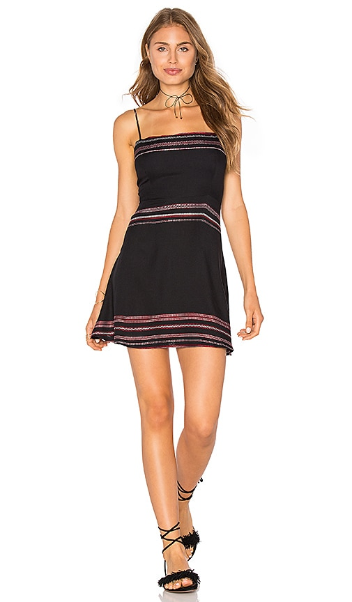 Two Arrows Quin Dress in Black