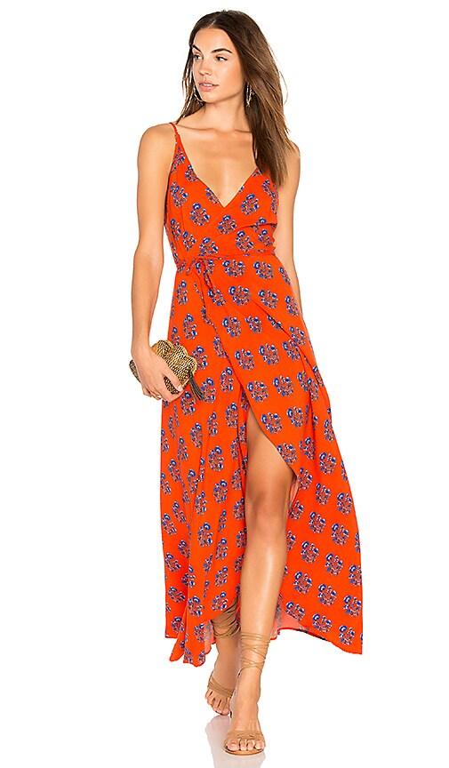 Two Arrows West Dress in Orange