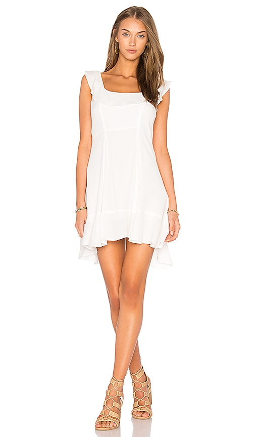Two Arrows Bella Dress in White
