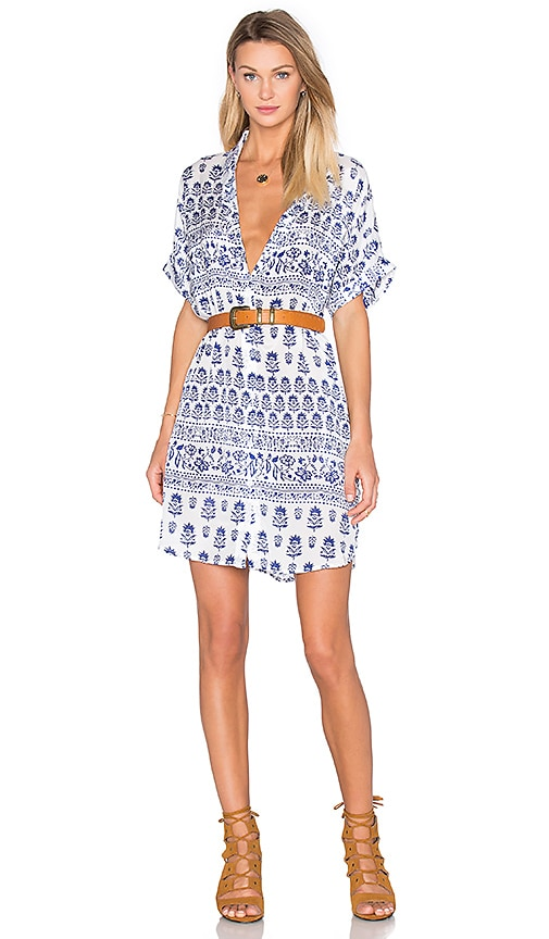 Two Arrows Simon Dress in White