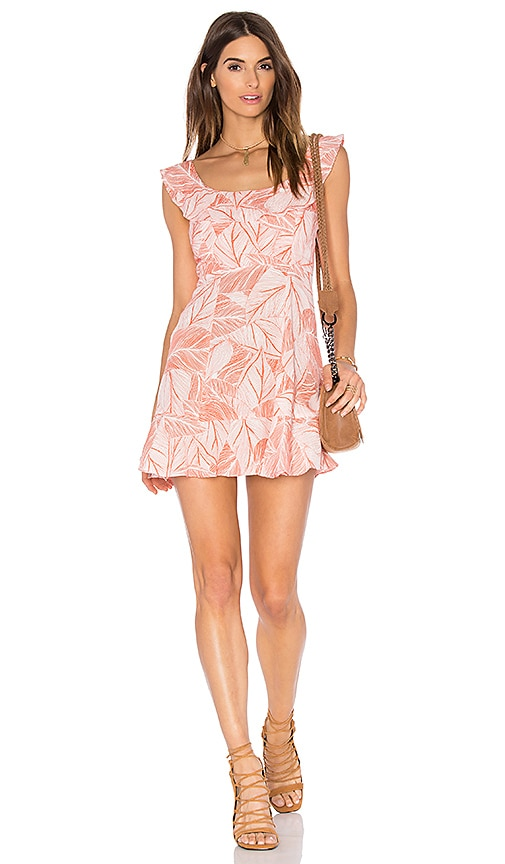 Two Arrows Kate Dress in Orange