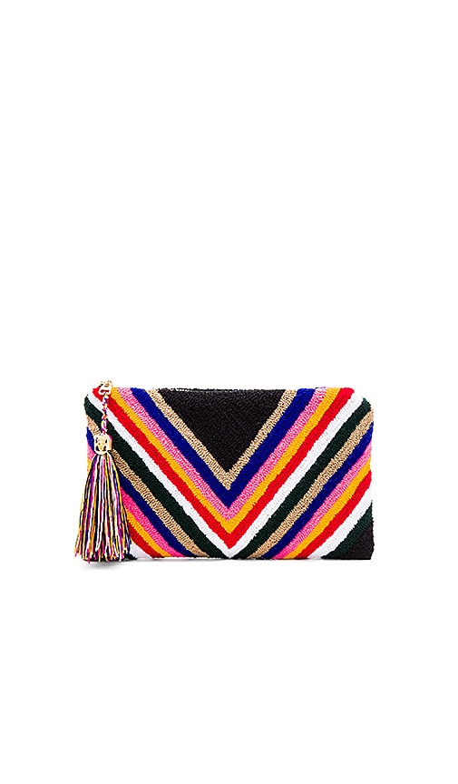 the way u Deco Clutch in Black