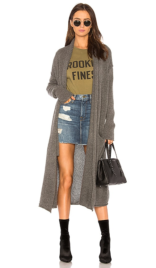 ThePerfext Robertson Cardigan in Gray
