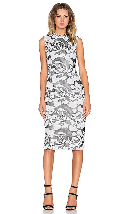 3c6003070cf TY-LR The Verdant Dress in Black   White
