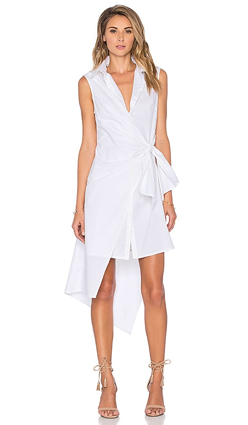 TY-LR The Rapid Dress in White